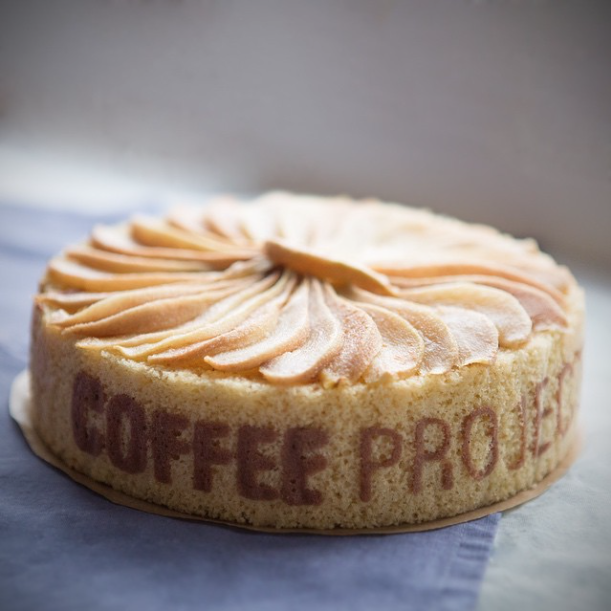Charlotte aux poires for Coffee Project 3d birthday